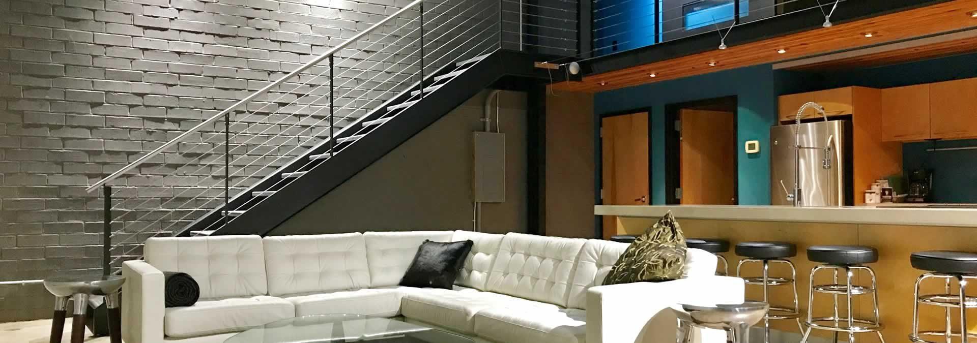 boutique designer hotels hangar lofts hotel columbia sc. Black Bedroom Furniture Sets. Home Design Ideas